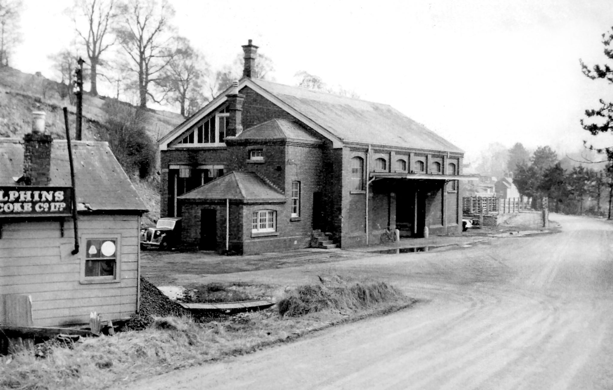 Tetbury Goods Shed in the 1963