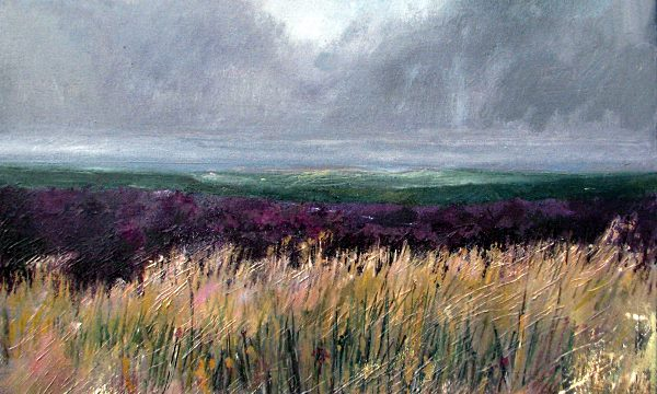 Painting: Moors by Angie Spencer